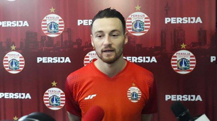 Liga 1 Ditunda Sampai Februari 2021, Gelandang Persija Marc Klok Kirim Pesan Menyentuh ke Jakmania