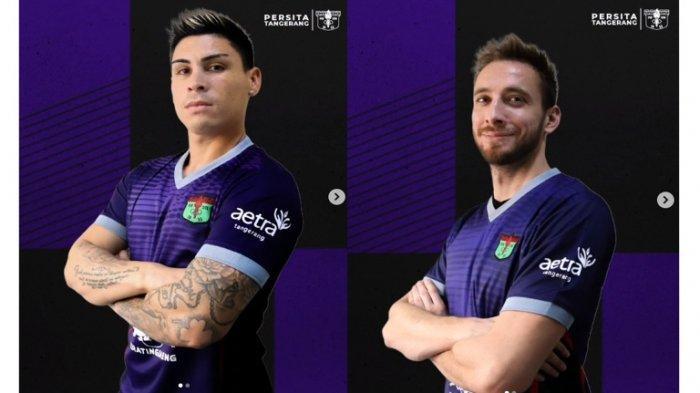 Persita Tangerang Kenalkan Dua Pemain Asingnya, Satu dari Argentina, Satu Eks Timnas Junior Bosnia