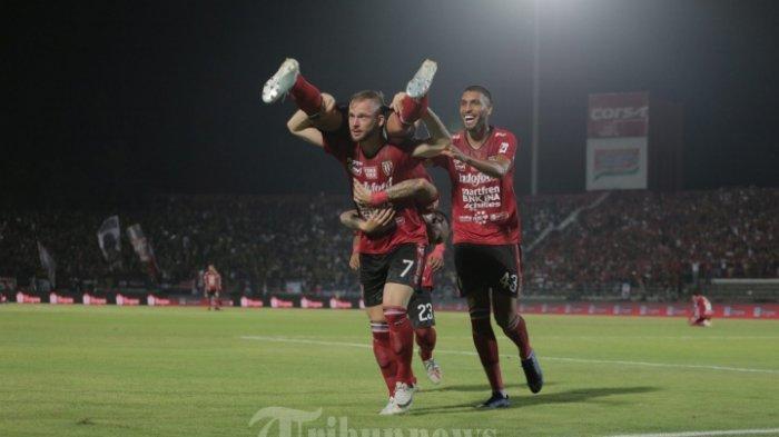 Malvin Platje Cetak 2 Gol Cepat dan Bawa Bali United Unggul Atas Tampines Rovers