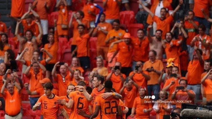HASIL EURO 2020 Semalam: Belanda Susul Belgia dan Italia Lolos 16 Besar, Berikut Klasemen Sementara