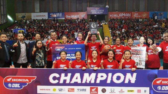 SEDANG BERLANGSUNG Final Putra Honda DBL 2019 Jakarta West Region: Akses Linknya di Sini