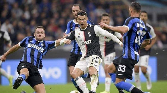 Hasil dan Klasemen Liga Italia Serie A - Juventus Kalahkan Inter Milan di Laga Tanpa Penonton