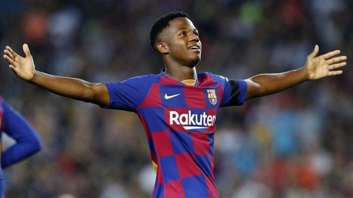 Pemain Muda Barcelona Ansu Fati Akan Kenakan Nomor 10 Peninggalan Lionel Messi
