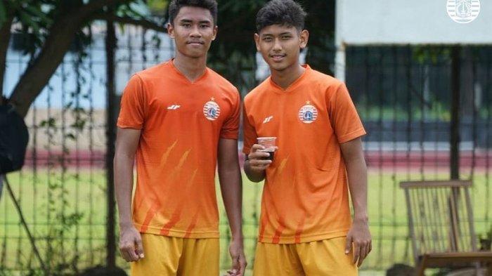 Tawa 2 Pemain Muda Persija Jakarta, Bersahabat Sejak SD Hingga Perkuat Macan Kemayoran