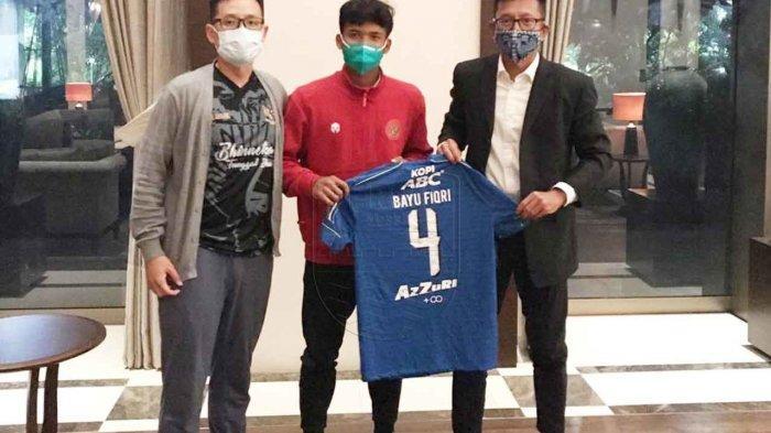 Dikontrak Persib Bandung, Bayu Fiqri Punya Semagat Lebih Ikut TC Timnas U-19 Indonesia