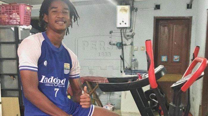 Pemain Persib Bandung Ronaldo Kwateh dipanggil TC Timnas U-16 Indonesia