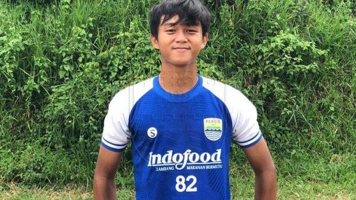 Pemain Persib Bandung  U-16 Ridwan Ansori