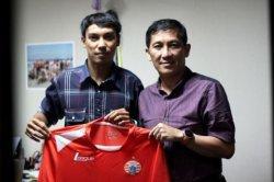 Pemain Persija Jakarta Novri Setiawan didatangkan Macan Kemayoran enam tahun lalu.