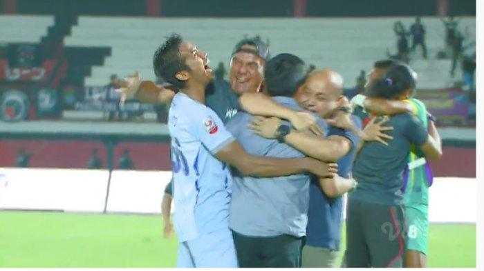 Persita Tangerang Tim Pertama Promosi Liga 1 2020, Tekuk Sriwijaya FC Lewat Adu Penalti