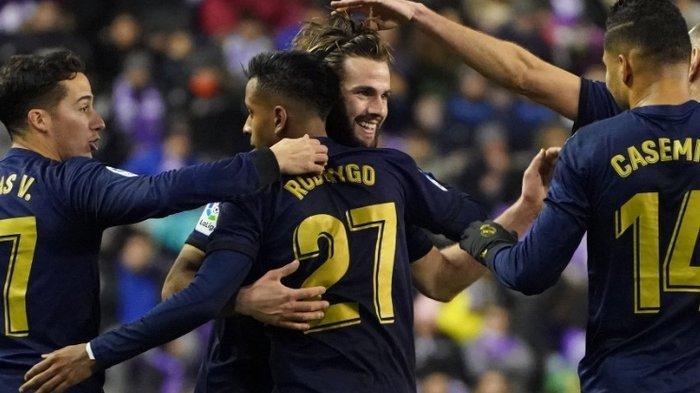 Hasil Lengkap & Klasmen La Liga Spanyol - Real Madrid Rebut Posisi Puncak dari Tangan Barcelona