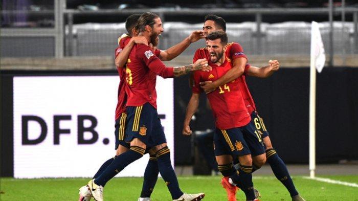 Hasil UEFA Nations League: Spanyol Bantai Jerman 6-0, Ferran Torres Hattrick