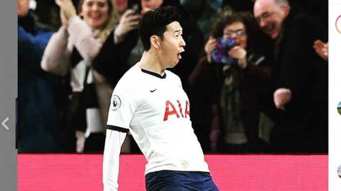 Tottenham Sementara Unggul 1-0 dari Man City Lewat Gol Cepat Son Heung-min