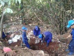 Cegah Longsor Susulan, Tebing Di Jalan Kramat Oyar Setu Diturap Sementara