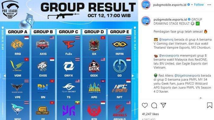 Live Streaming PUBG Mobile Pro Leage PMPL SEA, 5 Tim Indonesia Hadapi Tim Terbaik Asia Tenggara