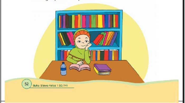 Ceritakan Kebiasaanmu di Siang Hari! Kunci Jawaban Buku Tema 3 Kelas 1 SD Halaman 53 54 55 57 dan 58