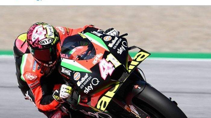 Hasil Free Practice 1 MotoGP Catalunya 2021: Aleix Espargaro Tercepat, Valentino Rossi ke-15