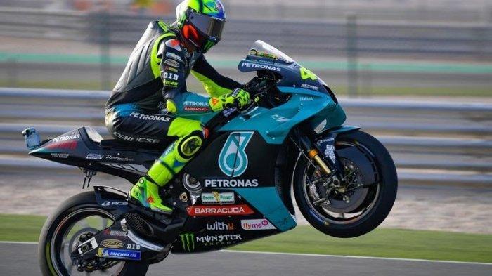 Pembalap Petronas Yamaha SRT, Valentino Rossi.