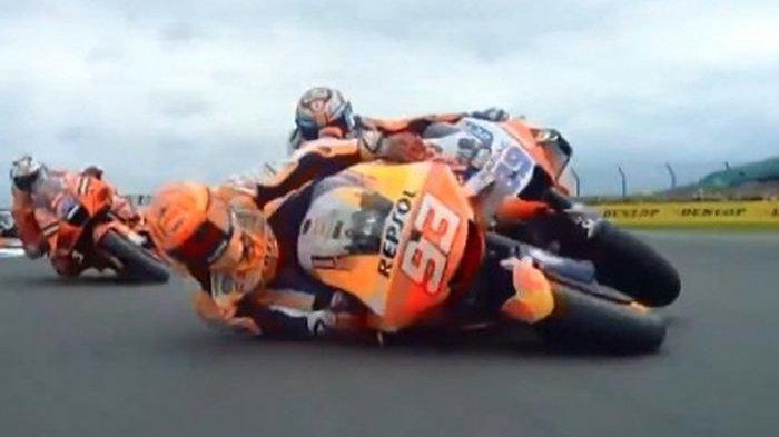 Jelang Jadwal MotoGP 2021 Seri 13 MotoGP Aragon, Pengamat Soroti Kecelakaan Marc Marquez