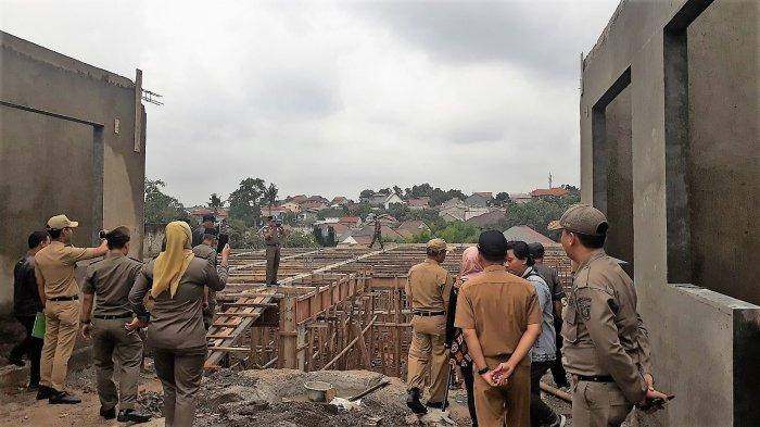 Langgar IMB, Bangunan Mewah di Jalan Gunawarman Jakarta Selatan Dibongkar Satpol PP