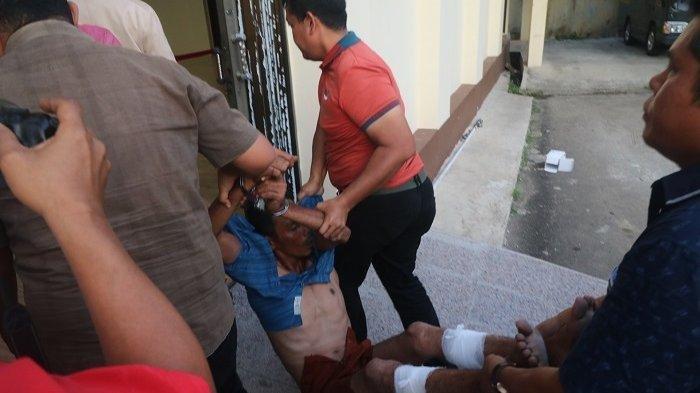 Suami Bunuh Istri dan 2 Anak Tiri di Aceh Utara: Kerasukan Setan dan Kesurupan di Kantor Polisi