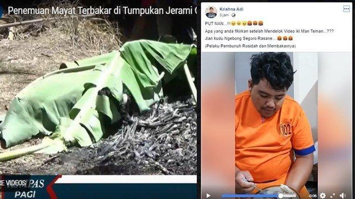 Diduga Sakit Hati Sering Disebut Boboho, Pria Ini Bunuh dan Bakar Wanita di Banyuwangi