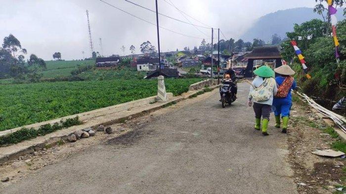TKP diduga penganiayaan berujung meninggal ibu muda di Desa Bakal, Batur Banjarnegara