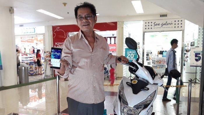 Hanya Coba-coba, Pria Ini Menangkan Satu Unit Motor di Ulang Tahun ke-26 Mal Ciputra Jakarta