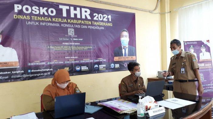 Punya Aduan Terkait THR? Simak Lokasi dan Cara Pengaduannya Untuk Pekerja di Kabupaten Tangerang