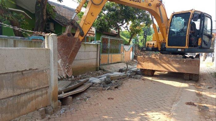 Tak Diindahkan, Polisi Bakal Panggil Secara Paksa Pembangun Tembok Beton di Rumah Warga Tangerang