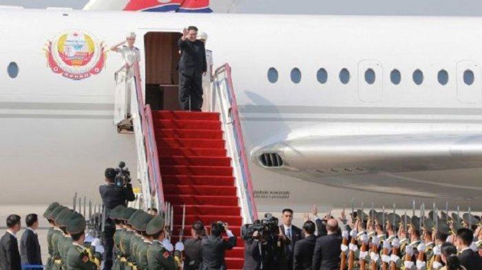 Kim Jong Un Gunakan Tiga Pesawat China: Bawa Delegasi, Mobil, Senjata dan Makanan
