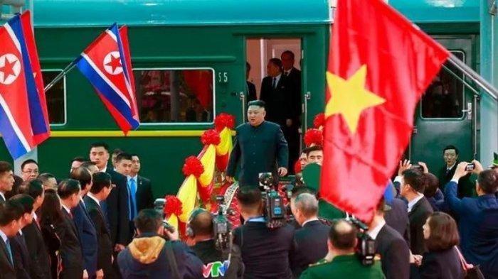Tiba di Vietnam untuk Bertemu dengan Donald Trump, Kim Jong Un Naik Kereta Lapis Baja