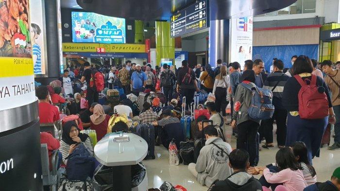 20.000 Pemudik Telah Kembali ke Jakarta Melalui Stasiun Gambir