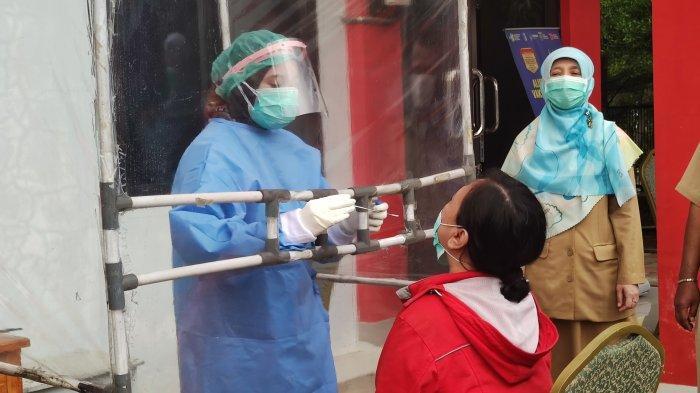 Pemudik di Kecamatan Cilodong Depok Mulai Jalani Rapid Test Antigen Pasca Libur Lebaran
