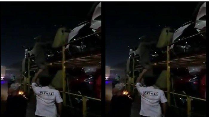 Pemudik Terciduk Sembunyi di Truk Pengangkut Motor, Gagal Kelabui Polisi & Diturunkan di Tol Cikupa