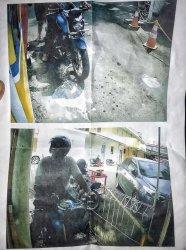 Tangkapan layar kamera CCTV, penabrak motor Suhanda yang kabur tak mau bertanggung jawab membiayai pengobatan di Rumah Sakit Prikasih, Pondok Labu, Jakarta Selatan pada Selasa (15/6/2021). Kejadian ini menjadi viral di Twitter usai Rani mengunggah di akun pribadinya.