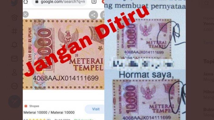 Panitia Seleksi CPNS dan PPPK 2021 Temukan Pelamar di sscasn.bkn.go.id Pakai Materai Palsu