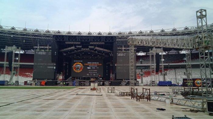 Guns N Roses Konser di SUGBK, Iwan Fals Kepikiran Soal Tempat Musik: Kan Presidennya Senang Musik