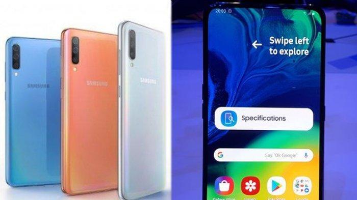 Spesifikasi Lengkap Samsung Galaxy A70 dan A80, Ini Perbedaan Mencoloknya