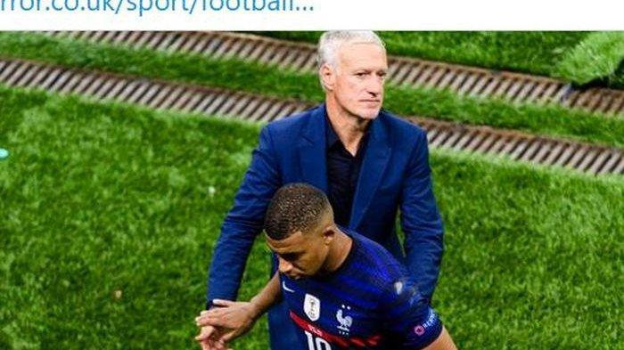 Penampilan Kylian Mbappe loyo di Euro 2020 bahkan dia menjadi penentu kekalahan Prancis di babak 16 besar melawan Swiss.
