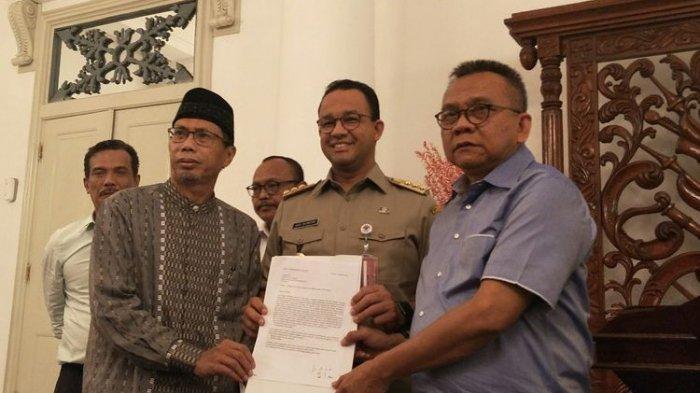 Gubernur Anies Baswedan Terima Nama 2 Calon Wakil Gubernur DKI dari Gerindra dan PKS