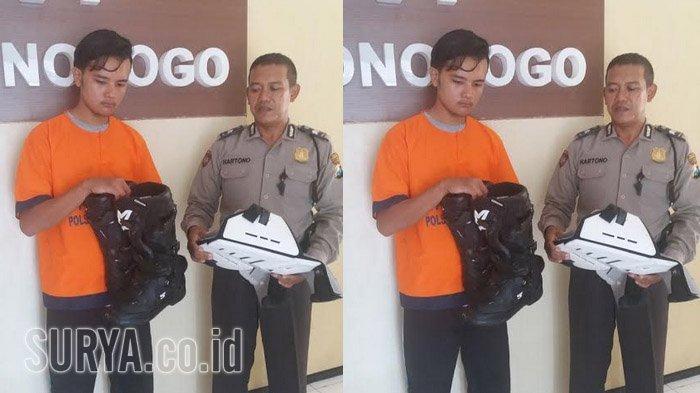 Pencuri Amatir Tertangkap Gara-gara Posting Sepatu di Facebook