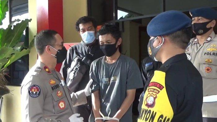 Remaja 17 Tahun Gasak 3 Sepatu di Asrama Brimob, Pelaku Tertangkap Setelah Jual Sepatu Secara Online