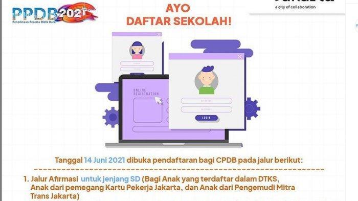 Bisa Diakses Mulai Sore Ini, Begini Cara Lihat Hasil Seleksi PPDB DKI Jakarta 2021 Jalur Afirmasi