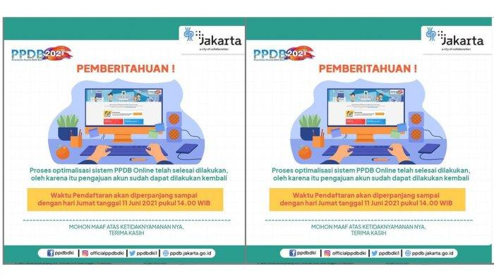 Teliti Lagi Alur dan Persyaratan PPDB DKI Jakarta, Pendaftaran Diperpanjang hingga 11 Juni 2021