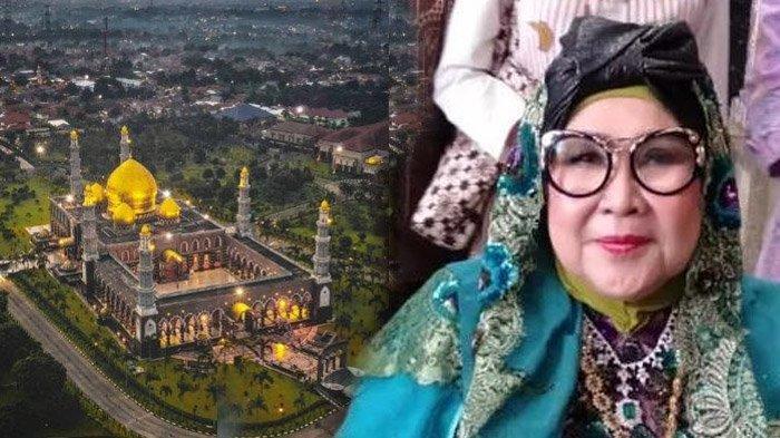 Wafat, Sosok Pendiri Masjid Kubah Emas Dian Al Mahri Dikenal Mudah Bergaul dengan Segala Kalangan