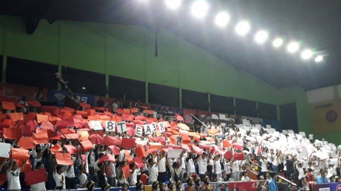Astrea 38 Persembahkan Koreo Spesial di Ajang DBL DKI Jakarta South Region 2019