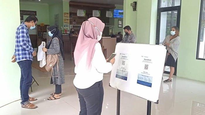 Penerapan Aplikasi PeduliLindungi di Kantor Pelayanan Publik Kota Bekasi Diperluas Sampai Kelurahan