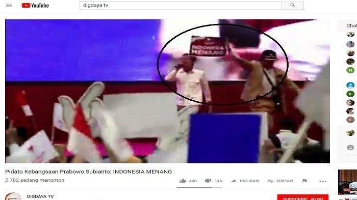 Dedi Miing Gumelar Panggil Keamanan Lihat Pria Joget di Panggung Acara Pidato Kebangsaan Prabowo