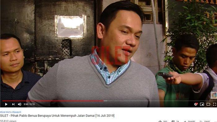 Pengacara suami Rey Utami, Pablo Benua yang lain Farhat Abbas justru memberikan keterangan berbeda.