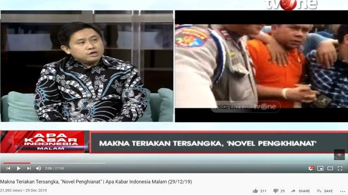 RB Teriak Novel Baswedan Pengkhianat, Pengamat Ekspresi Soroti Sejumlah Keganjilan: Kenapa Saat Itu?